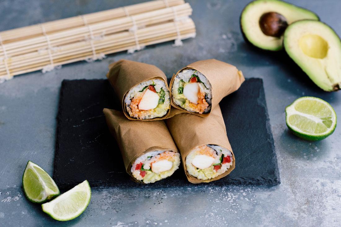 Life Goals :: How to Make a Sushi Burrito Recipe & Video Tutorial
