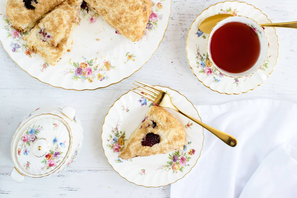 The BEST Easy Basic Light & Moist Scones Recipe - Takes 10 minutes and add ingredients of your choice, like raspberry and white chocolate