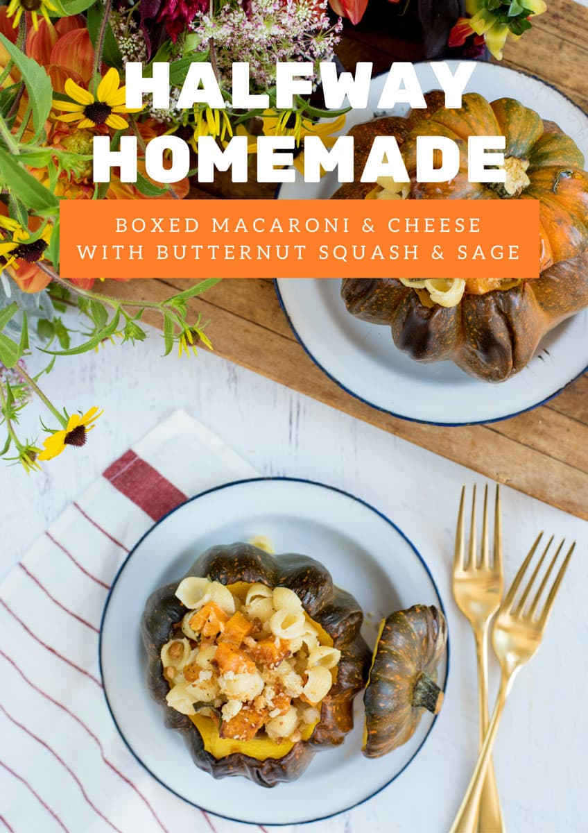 Ways to Upgrade Boxed Mac & Cheese with this Butternut Squash & Sage Recipe!
